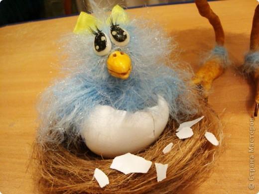 Сделала птичку по МК Вдохновленной,спасибо ей огромное за замечательный МК ! http://stranamasterov.ru/node/121674?c=favorite фото 7