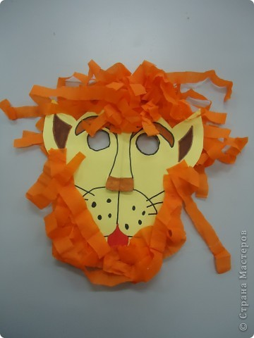 Маска льва фото 2