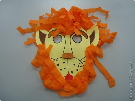 Маска льва фото 1