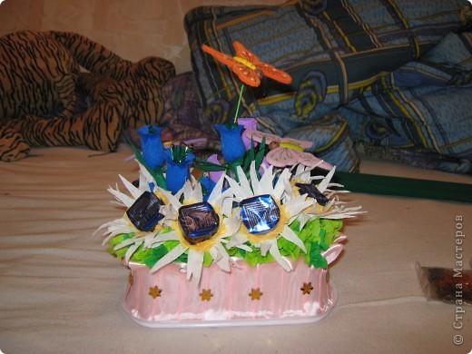 вот такой летний букетик у меня получился подружке на день рожденье очень нужна ваша отценка это общий вид фото 1