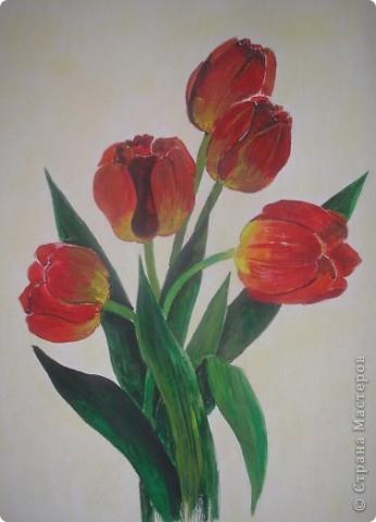 И живопись с первым днем весны бумага