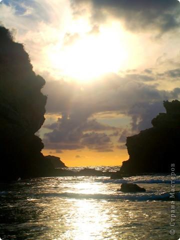 Налюбовавшись фотографиями Экзотики,  я вспомнила,  что тоже снимала солнышко. Вот оно мое. Познакомьтесь.  фото 12