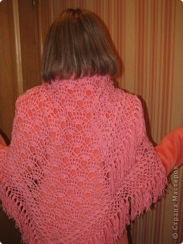 Первая созданная мной шаль! фото 2