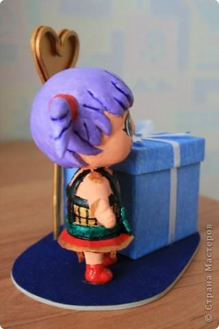 Эта рамка делалась к Дню рождения для поклонника аниме. фото 4