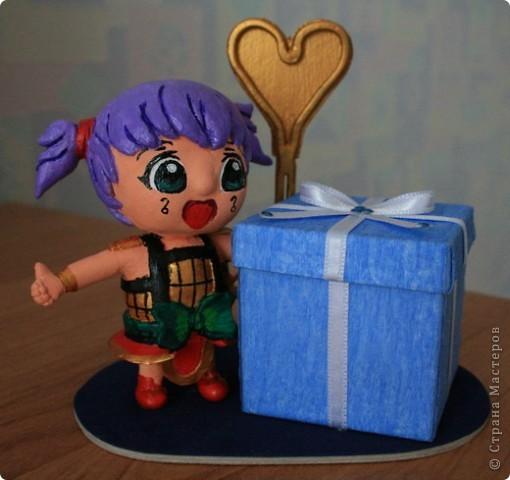 Эта рамка делалась к Дню рождения для поклонника аниме. фото 1