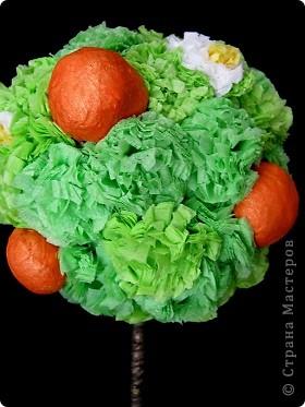 Вот какое славное! Почему-то захотелось, чтобы не только мандаринки, но и цветочки были. фото 1