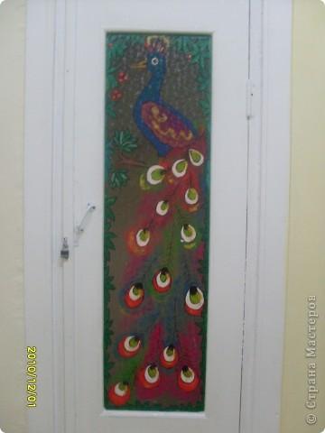 Роспись стекла, попытались украсить двери подсобок с детьми, по-моему у нас получилось! фото 3