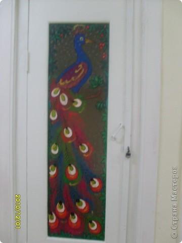 Роспись стекла, попытались украсить двери подсобок с детьми, по-моему у нас получилось! фото 5