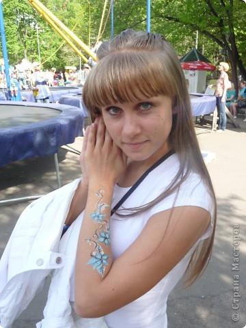 Первый татуаж))))Дебют!!!!! фото 3