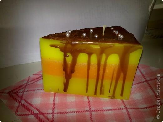 Апельсиновый тортик.