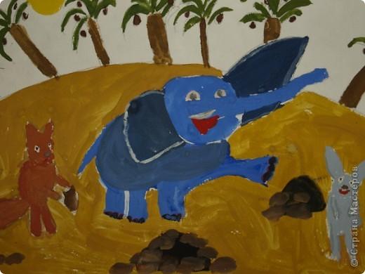 Это моя одна из любимых работ она написана в 6-ти летнем взрасте фото 2