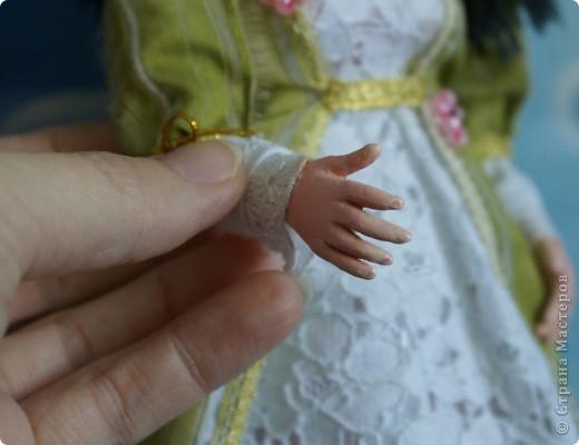Вот наконец-то у меня поселилась куколка Марийки Андриенко))) Знакомьтесь - Элина))). Девушка с характером и большими зелеными глазами. фото 6