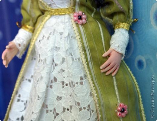 Вот наконец-то у меня поселилась куколка Марийки Андриенко))) Знакомьтесь - Элина))). Девушка с характером и большими зелеными глазами. фото 7