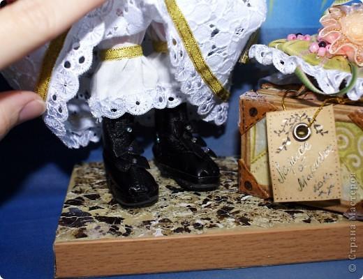 Вот наконец-то у меня поселилась куколка Марийки Андриенко))) Знакомьтесь - Элина))). Девушка с характером и большими зелеными глазами. фото 9