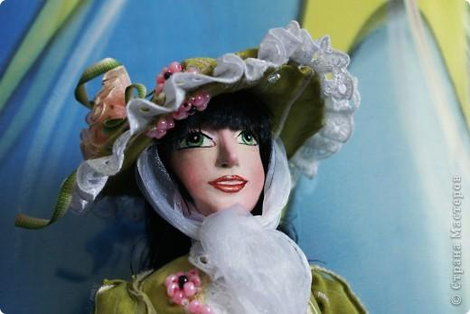 Вот наконец-то у меня поселилась куколка Марийки Андриенко))) Знакомьтесь - Элина))). Девушка с характером и большими зелеными глазами. фото 12