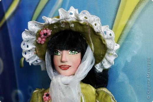 Вот наконец-то у меня поселилась куколка Марийки Андриенко))) Знакомьтесь - Элина))). Девушка с характером и большими зелеными глазами. фото 13