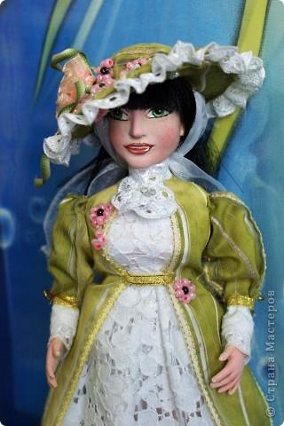 Вот наконец-то у меня поселилась куколка Марийки Андриенко))) Знакомьтесь - Элина))). Девушка с характером и большими зелеными глазами. фото 14