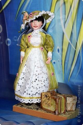Вот наконец-то у меня поселилась куколка Марийки Андриенко))) Знакомьтесь - Элина))). Девушка с характером и большими зелеными глазами. фото 15