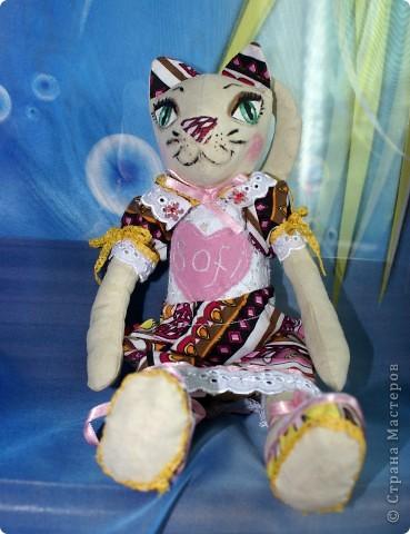 Вот наконец-то у меня поселилась куколка Марийки Андриенко))) Знакомьтесь - Элина))). Девушка с характером и большими зелеными глазами. фото 16