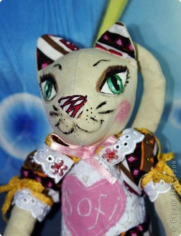 Вот наконец-то у меня поселилась куколка Марийки Андриенко))) Знакомьтесь - Элина))). Девушка с характером и большими зелеными глазами. фото 17