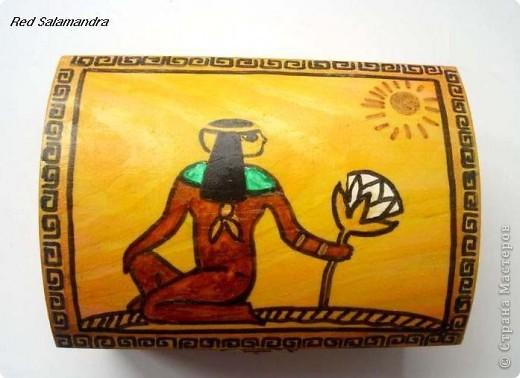 Египетская шкатулка фото 1