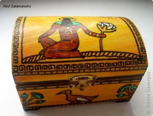 Египетская шкатулка фото 3