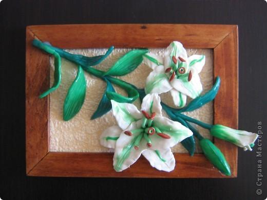 Вот такие цветы получились , а потом можно залить универсальным лаком. фото 2