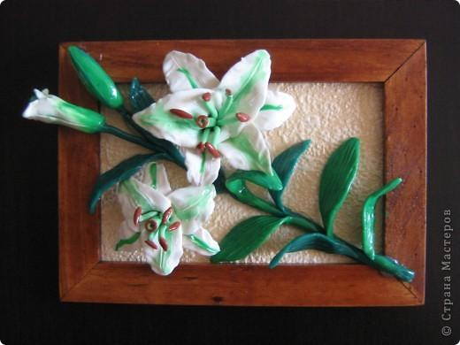 Вот такие цветы получились , а потом можно залить универсальным лаком. фото 3