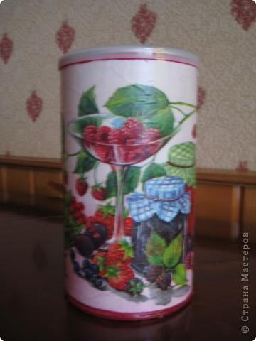Решила приукрасить мои баночки в которых храню травки для чая. фото 6
