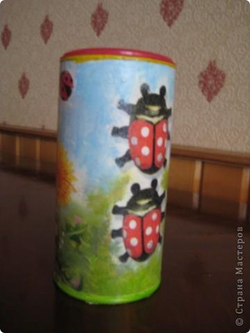 Решила приукрасить мои баночки в которых храню травки для чая. фото 8
