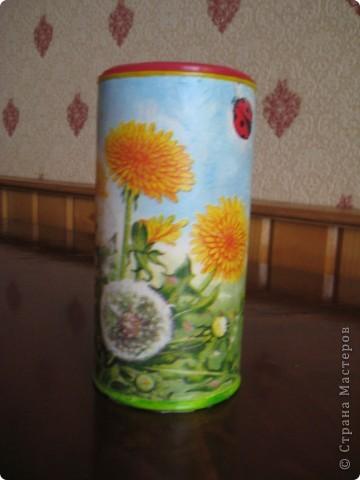 Решила приукрасить мои баночки в которых храню травки для чая. фото 7