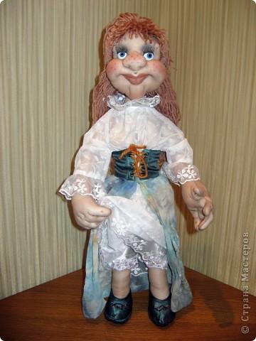 Моя новая работа. Кукла Ульяна. фото 1
