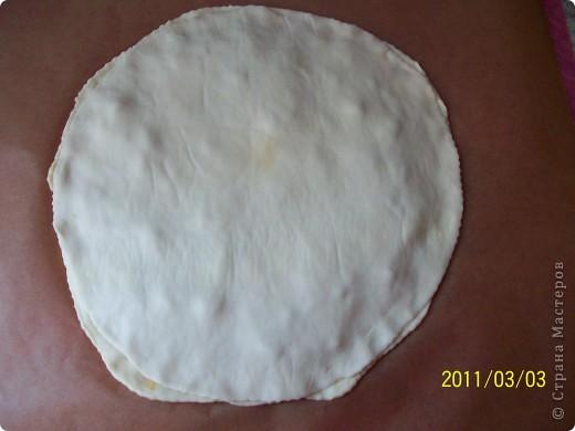 Пирог -Цветок. фото 6
