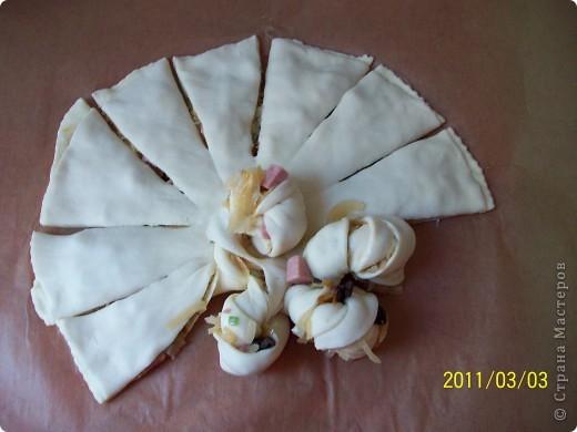 Пирог -Цветок. фото 10