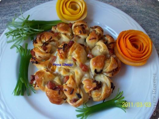 Пирог -Цветок. фото 1