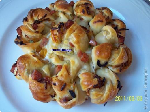 Пирог -Цветок. фото 12