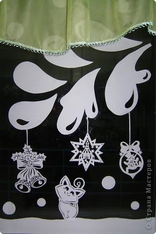 Украшение Новый год Вырезание Новый год в школе Бумага фото 8