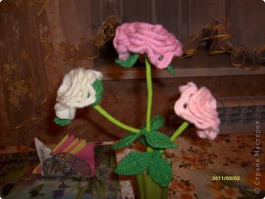 Розы для мамы фото 1