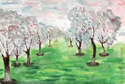 Цветущий сад - моя мечта. Я родилась в начале мая, Когда вся яблоня цвела Меня на свете забавляя.