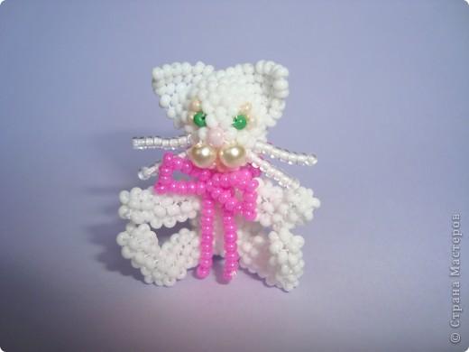 Этого котенка сделала по МК Ульяны Волховской в подарок для подруги Алёнки. фото 1
