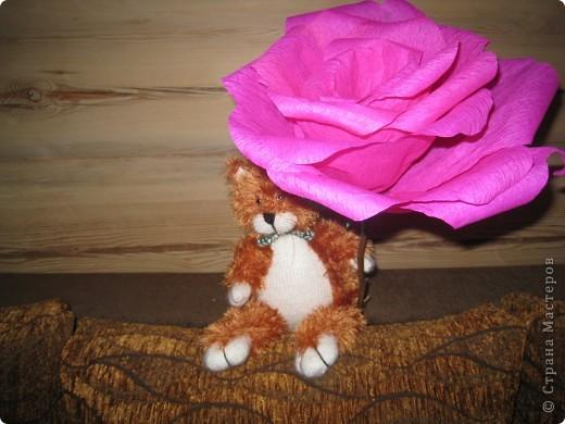 Давно собиралась сделать гигантскую розу, наконец то собралась)))) фото 3