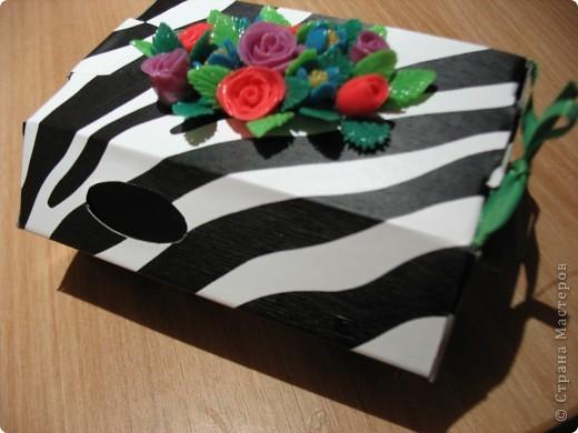 Коробочка для подарка фото 2