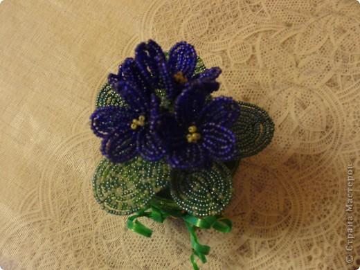 Небольшая орхидея. Мой первый опыт в плетении(больших) цветов. фото 5