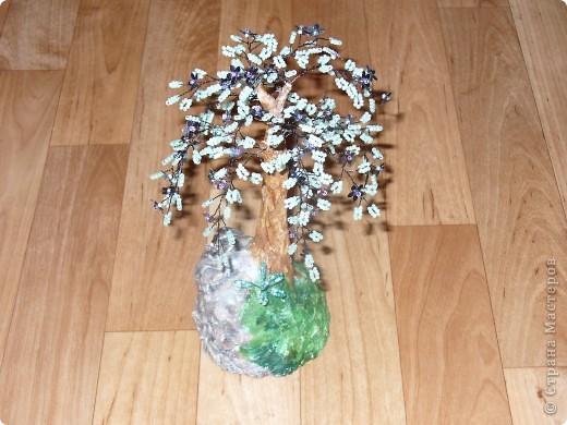 Небольшая орхидея. Мой первый опыт в плетении(больших) цветов. фото 4