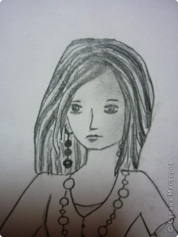 Вот такую девушку мы будем рисовать фото 10