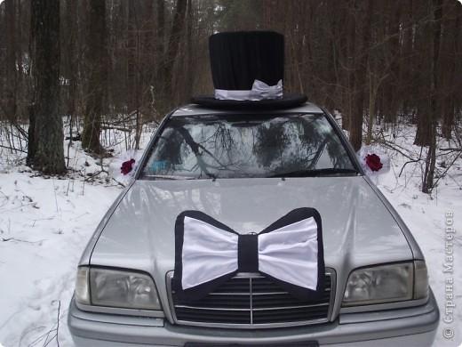 Свадебная  машинка фото 1