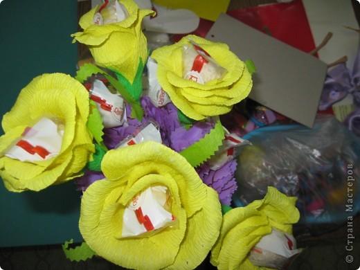 Благодарна  ВСЕМ за МК по  свит-дизайну!   я в восторге от процесса, и от эмоций тех, кому вручены эти цветочки! фото 4