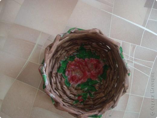 Карзинка с тюльпанами. фото 3