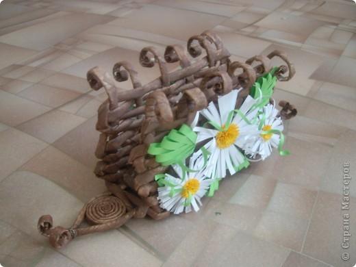 Карзинка с тюльпанами. фото 5