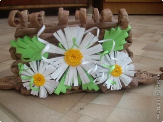 Карзинка с тюльпанами. фото 6